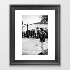 Worth Avenue Framed Art Print