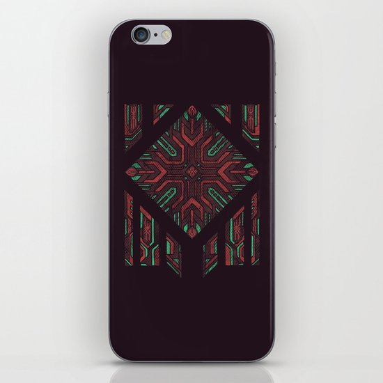 Compartmentalized iPhone & iPod Skin