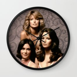 Charlie's Angels Wall Clock