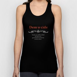 Death by Government Unisex Tank Top