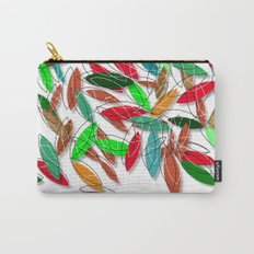 colored leaves Carry-All Pouch