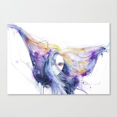 Big Bang in watercolor Canvas Print
