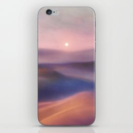 Minimal abstract landscape II iPhone Skin