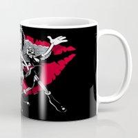 rocky horror Mugs featuring Rocky Horror Gang by Billy Allison