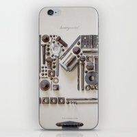 heavy metal iPhone & iPod Skins featuring Heavy Metal by Tom Davie