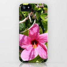 Hibiscus Slim Case iPhone (5, 5s)