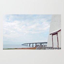 Bridge and Lighthouse Rug