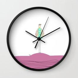 Asleep Tony Wall Clock