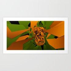 monkey - tepetl Art Print