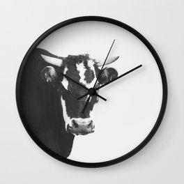 Modern Cow Wall Clock