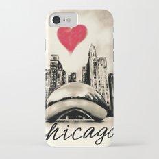 I love Chicago iPhone 7 Slim Case