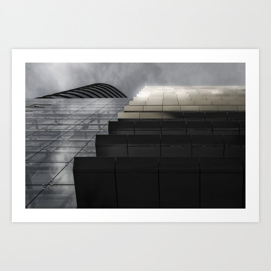 Builds 1 Art Print