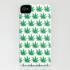 Keep Calm and Smoke Weed iPhone (4, 4s) Slim Case