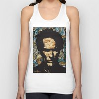 clint eastwood Tank Tops featuring EASTWOOD by Dani Herrera