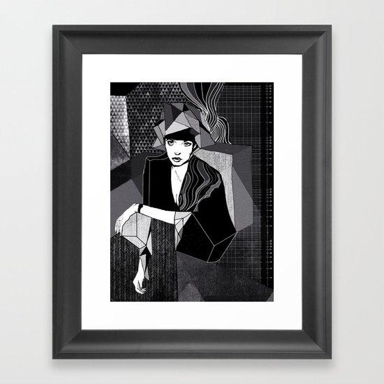 Greyscale Framed Art Print
