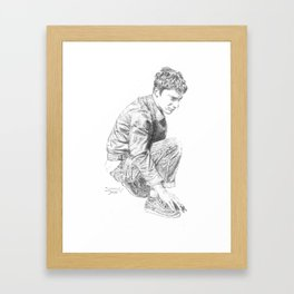 Graham Coxon #4 Framed Art Print