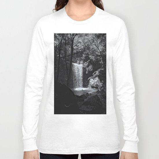 Ohiopyle's Cucumber Falls Long Sleeve T-shirt