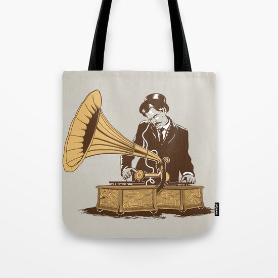 The Future In The Past Tote Bag