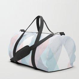 Diamond Peaks on Marble Duffle Bag