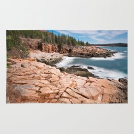 Acadia National Park - Thunder Hole Rug
