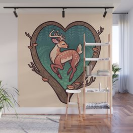 Heart of the Forest Wall Mural