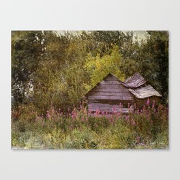 Hiding From The Past Canvas Print