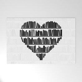 Book Lover II Welcome Mat