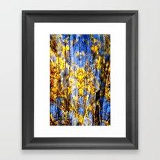BLUE SYMPHONY of SPRING Framed Art Print