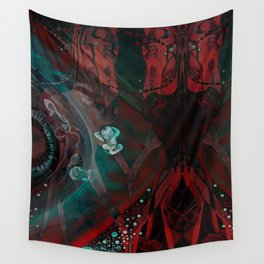 Carousel Horses Wall Tapestry