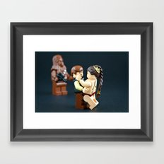 Jealousy of a Self Rescuing Princess Framed Art Print