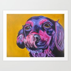 Samantha's Tongue Art Print