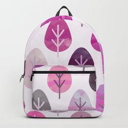 Watercolor Forest Pattern #3 Backpack
