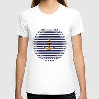 marine T-shirts featuring Marine by Elena Indolfi