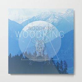 WOODY Metal Print