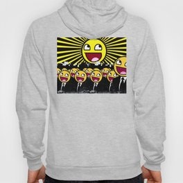 Awesome Smiley Faces Yellow Emoticon                                      Hoody
