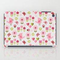 karu kara iPad Cases featuring JARDIN DE L'AMOUR by Daisy Beatrice