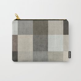 color block - gray Carry-All Pouch