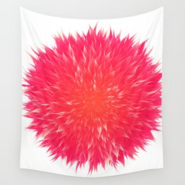 Mandala Flower || Rose Wall Tapestry