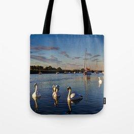 Graceful Swans  Tote Bag