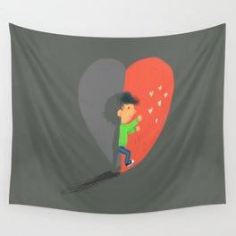 Boy in Love #4 Wall Tapestry