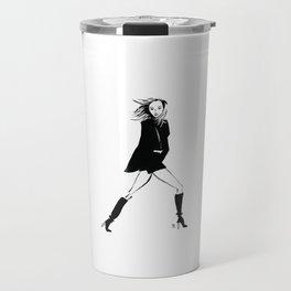 Karlie | Fashion Illustration Travel Mug