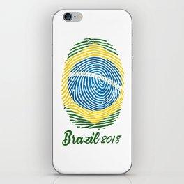 FIFA WORLD CUP 2018 - BRAZIL iPhone Skin