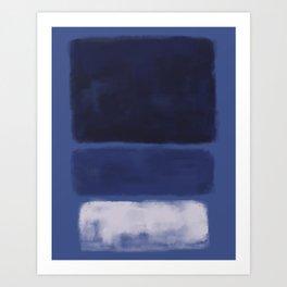 Rothko Inspired #26 Art Print