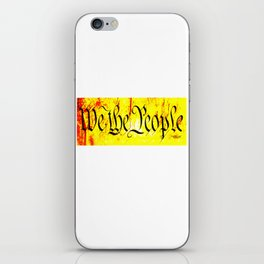 We The People jGibney The MUSEUM Society6 Gifts iPhone Skin