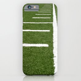 Football Lines iPhone Case