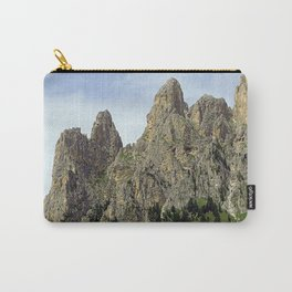 Scenic Mountain Peaks Alpine landscape Carry-All Pouch