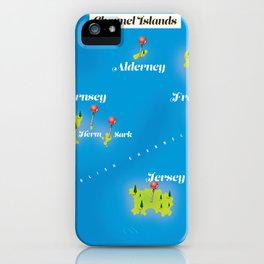 Channel Islands. iPhone Case