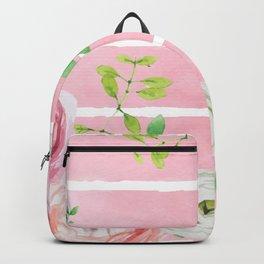 FLOWERS WATERCOLOR 4 Backpack