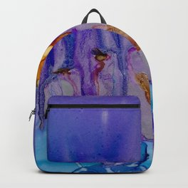 Gem Tones with Silver Backpack