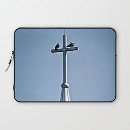 Perched on a Steeple Laptop Sleeve